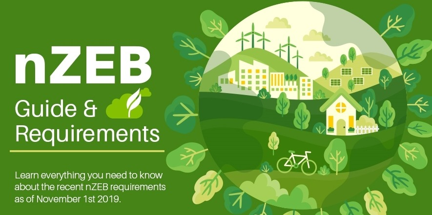 NZEB Requirements Infographic
