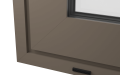 EXTERNAL CORNER OF ALUMINIUM LIFT & SLIDE DOOR (COLOUR - BEIGE GREY RAL 7006 MATT)