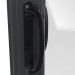 EXTERNAL BLACK HANDLE ON uPVC PATIO DOOR (COLOUR - 7016 SMOOTH GREY)